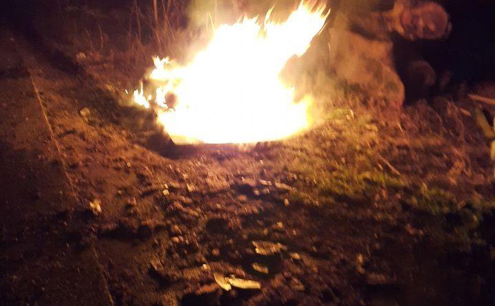 2021. március 4. Kiskunlacháza, 51-es 32 km. – hulladékot égetnek