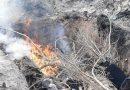 2021. március 4. Kiskunlacháza, Móricz Zs.u. – szemetet égetnek