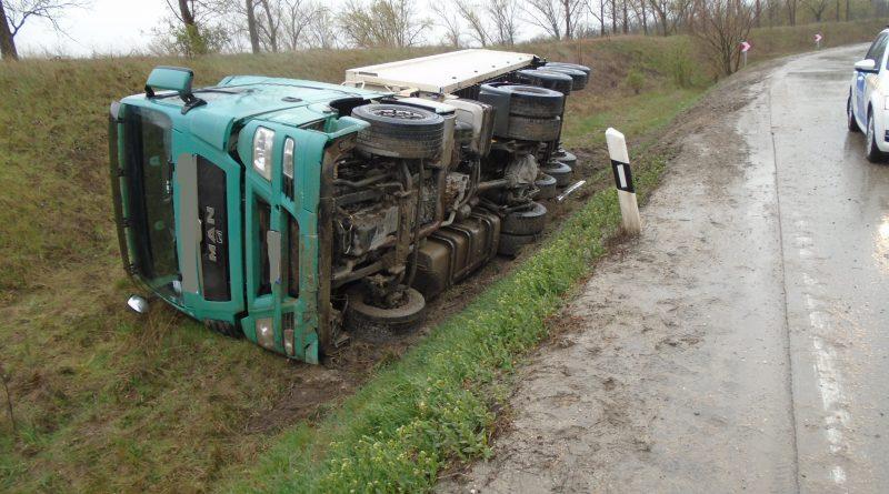 2021. április 13. Kiskunlacháza 5204-es út – közlekedési baleset